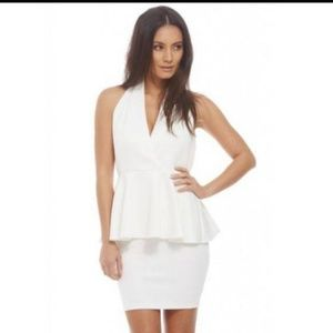 Beautiful white halter dress